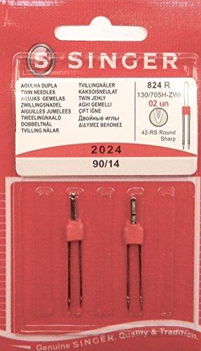 Singer 2Original Universal Zwilling Agujas de Coser 2024Grosor 90/14