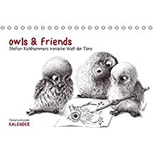 owls & friends Immerwährender Kalender (Tischkalender immerwährend DIN A5 quer): Stefan Kahlhammers fabelhafte Tierwelt (Tischkalender, 14 Seiten) (CALVENDO Spass)