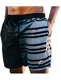 440ea69cccd08 GUGGEN Mountain Men's Swimming Trunks Out of High-Tec Material Swim Shorts  Bathing Drawers Bathers