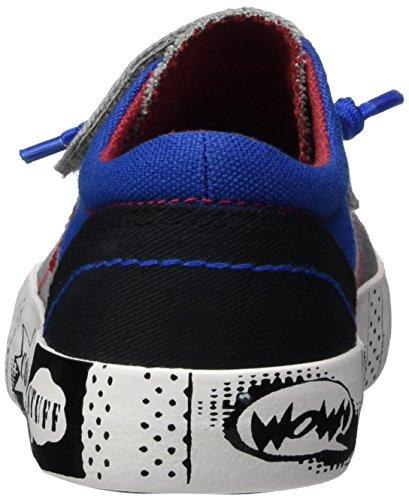 s.Oliver 33104, Sneakers Basses Garçon Gris (GREY COMB 201)