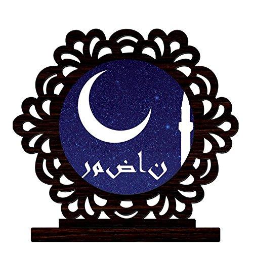 CRAZYINK Printed Eid al-Adha Wooden Home Décor Showpiece | Design 9 |...
