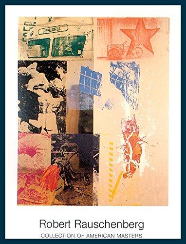 bild-mit-rahmen-robert-rauschenberg-favor-rites-holz-blau-70-x-90cm-premiumqualitt-abstrakte-malerei