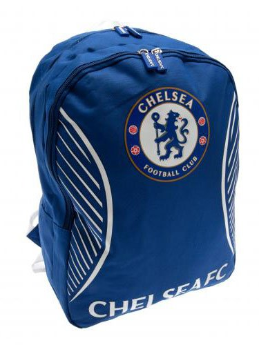 Chelsea F C  Backpack SV Official Merchandise