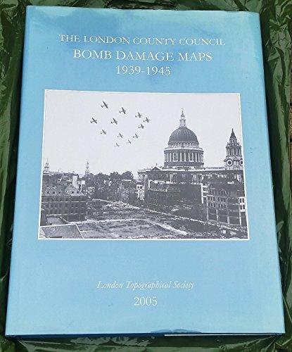 London County Council Bomb Damage Maps 1939-45