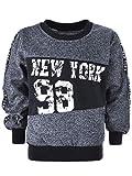 BEZLIT Kinder Jungen Winter Langarm Pullover Sweatshirt Sweater Pulli 22889 Blau 116