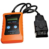 RISHIL WORLD Car AC600 Diagnostic Scanner CAN Bus Fault Code Reader OBDII Scan Tool