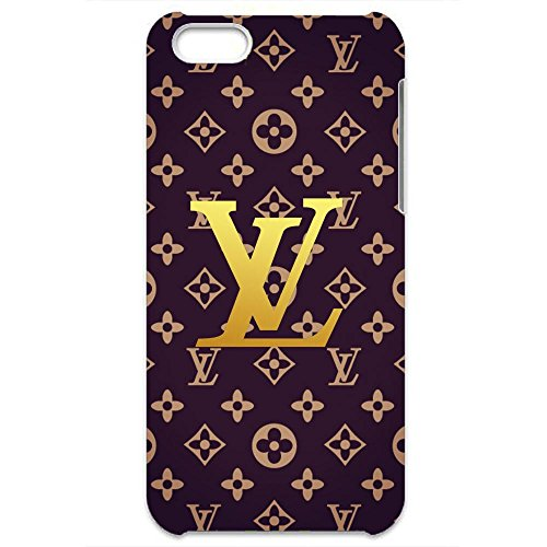 LV Louis with Vuitton Logo Design 3D Hard Plastic Case Cover For Iphone 6/6S (Vuitton Louis Gucci)