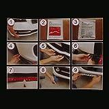 #4: Generic Universal Durable PU Rubber Bumper Lip Chin Spoiler Body Trim Pack of 1 - glossy black