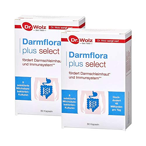2 x Darmflora plus select (2×80 Kapseln)