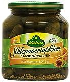 Kühne Gewürzgurke Schlemmertöpfchen Süße Gürkchen, 300 g