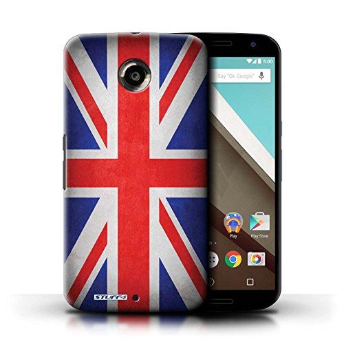 Kobalt® Imprimé Etui / Coque pour Motorola Nexus 6 / Pays de Galles/gallois conception / Série Drapeau Royaume-Uni/Britannique