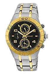 Omax Smart Casual Analog Dial Mens Watch - SS605
