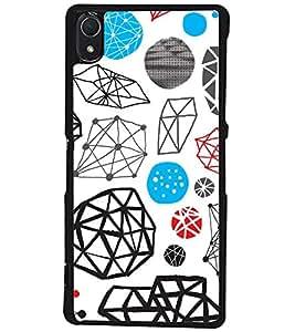 PRINTSWAG VECTOR DESIGN Designer Back Cover Case for SONY XPERIA Z2