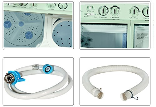 Godrej WS Edge 680 CT Semi-automatic Washing Machine (6.8 Kg, Apple Green)