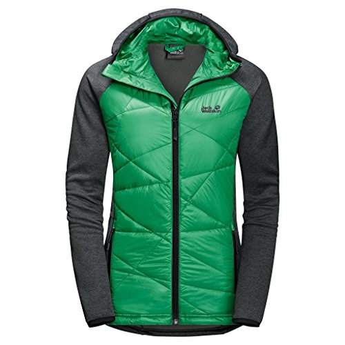 Jack Wolfskin, Giacca in pile Donna skyland Crossing Women verde - evergreen
