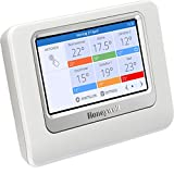 Honeywell evohome Zentrales Bediengerät, THR928SRT, funktioniert mit Amazon Alexa
