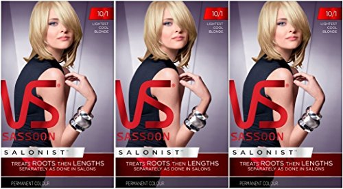 3-x-vs-vidal-sassoon-salonist-permanent-hair-colour-dye-10-1-lightest-cool-blonde