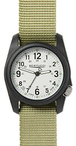 Bertucci 11038Unisex Patrol in nylon verde quadrante bianco Smart Watch