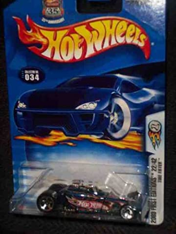 2003 First Editions -#22 Tire Fryer Orange HW Logo #2003-34 Collectible Collector Car Mattel Hot Wheels by Hot Wheels