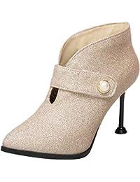 56d732515892 Suchergebnis auf Amazon.de für  ankle boots damen - Klettverschluss ...