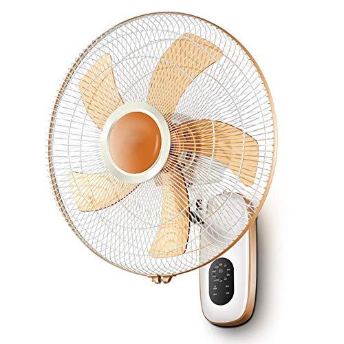 Ventilador/ventilador de pared/Ventilador silencioso 3 Velocidad 60 W, Adecuado para la Oficina...