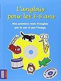 L'anglais pour les 3-6 ans (1CD audio)