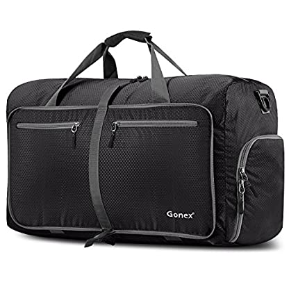 Gonex–Bolsa de equipaje plegable para deporte o viaje (multiusos, impermeable, 80 L)