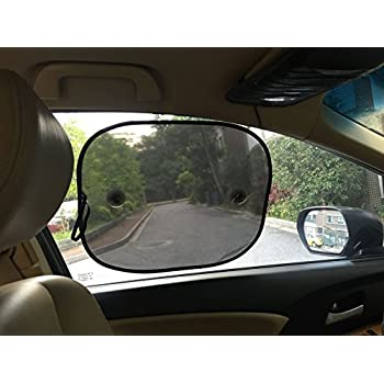 4 Pack XUNKE Car Sun Shades for Baby,Car Sun Shield Screens for Children,Baby Car Window Shades are best for blocking over 99/% of Harmful UV Rays while protecting your child from sunlight