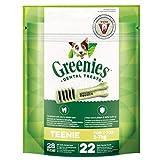 Greenies Dental Treats Original Teenie - 66 Zahnpflegesnacks für sehr kleine Hunde von 2-7 kg - Hundeleckerli zur täglichen Zahnreinigung - 3er Pack - 3 x 170 g