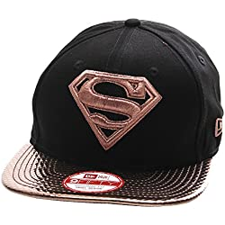 New Era Visor Shine Superman Snapback S/M black/gold