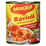 Maggi Ravioli in Tomatensauce, 800 g Dose, Für 2 Portionen