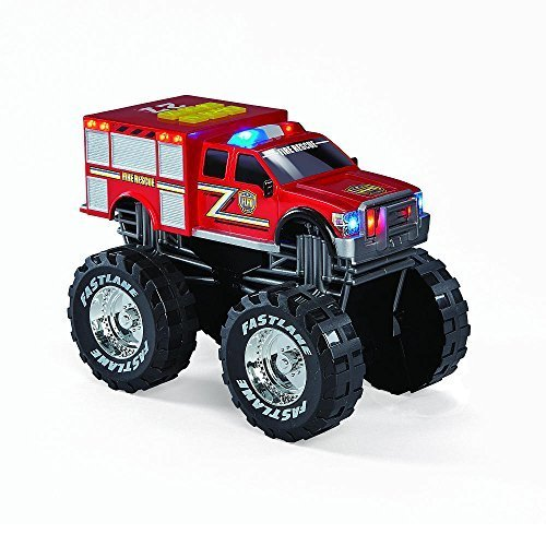 Fast Lane Lights and Sound Monster Fire Vehicle by Toys R Us