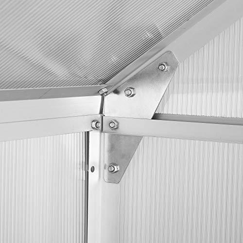 Aluminium Gewächshaus von Zelsius - 10