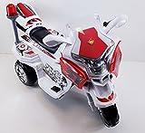 Kindermotorrad Elektromotorrad Maximum Topracer Kinder von 4-8 Jahre 6 Farben (Weiß)