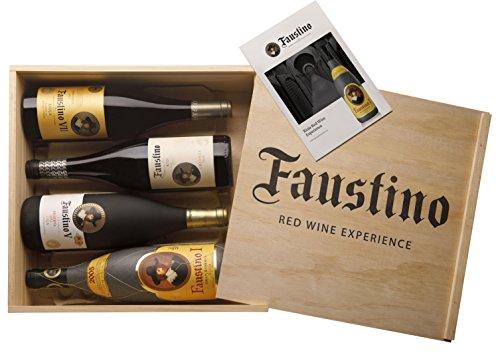 faustino v Faustino Rotwein Erlebnisbox (4 x 0.75 l)