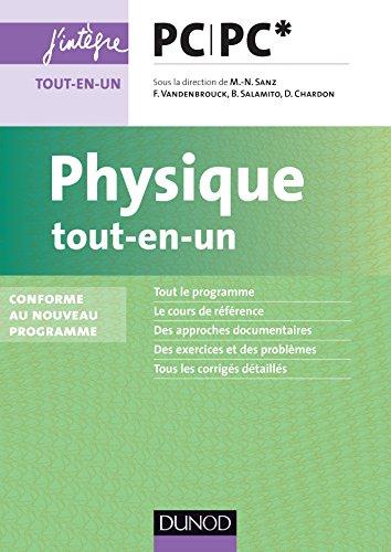 Physique tout-en-un PC-PC* - nouveau programme 2014 par Marie-Noëlle Sanz
