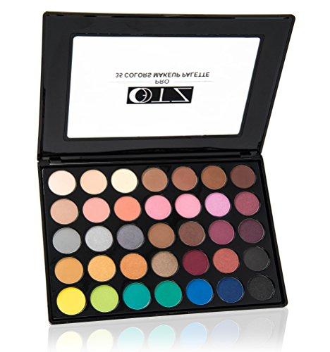 TZ–Pro 35colores maquillaje sombra de ojos paleta caliente Natural mate brillo sombra de ojos paleta maquillaje desnuda paleta de sombra de ojos
