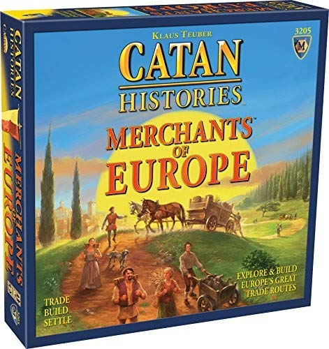 Mayfair Games MFG03204 - Brettspiele, Catan Histories, Merchants of Europe