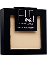 Maybelline Fit Me Matte und Poreless Powder, Nr. 120 Classic Ivory, 9 g