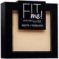 Maybelline Fit Me 120 Classic Ivory - polvos faciales (Class Ivory, Mate, Italia)
