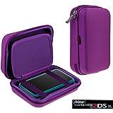 Navitech - Housse étui de transport anti-chocs, pour Nintendo 2DS XL (Violet)