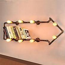 KDLD Apliques de Pared ® Restaurante y barra de pared de hierro forjado de flecha vintage decorativo luces luces de pared