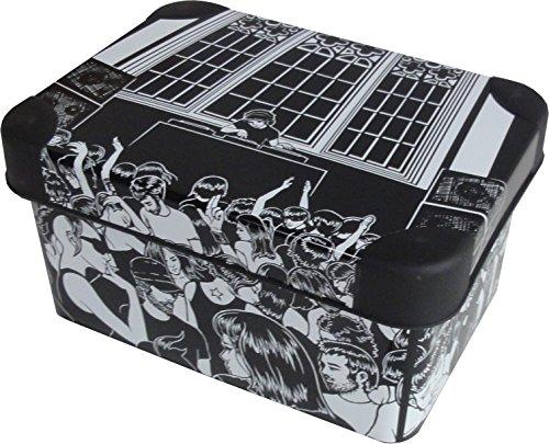 """Deco Aufbewahrungsbox \""""Down Town\"""" 1,9L ca. 19 x 14 x 10 cm Kiste mit Deckel Kunststoff Box"""
