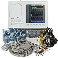 435cd71699a202 Funwill Electrocardiographe en couleur 7-inch LCD Portable numérique  Machine ECG Machine EKG avec 3