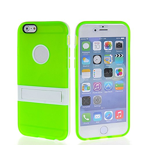 MOONCASE Brillare Gel TPU Silicone Housse Coque Etui Case Cover pour Apple iPhone 5 5S Claire Vert