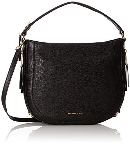 Michael Kors Julia Pebble Leather Medium Bag Black