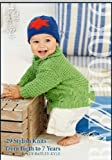 King Cole Knitting Pattern Baby Book 6 : 29 Stylish Knits From Birth To 7 Years