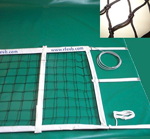 Red de voleibol modelo competición oficial. Nylon 3 mm ø