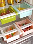 This storage rack is ideal for organizing food,drink,fruit and etc, which is very suitable for using under the table or refrigerator. Contractile activity card slot, flexible use, convenient and smart slide design, which is space-saving and easy to s...