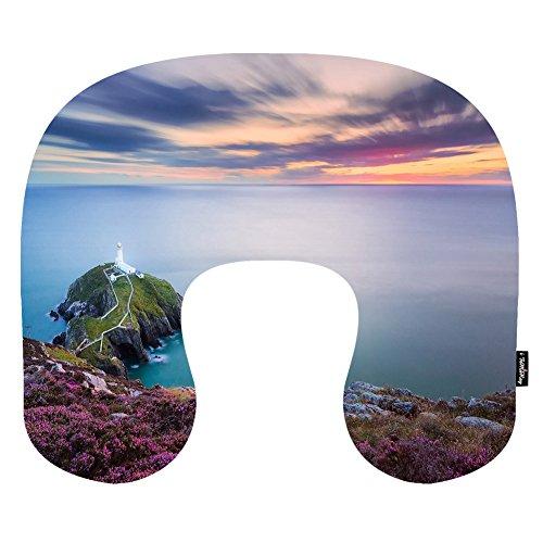 i-famuray-lighthouse-on-a-rocky-peninsula-pattern-polyester-cover-coussin-de-nuque-repose-u-oreiller